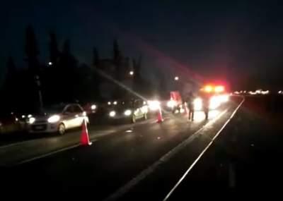 Conductor se autodenuncia tras atropellar a peatón en Autopista del Sol