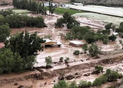 Un muerto y cinco desaparecidos por lluvias en el norte de Chile
